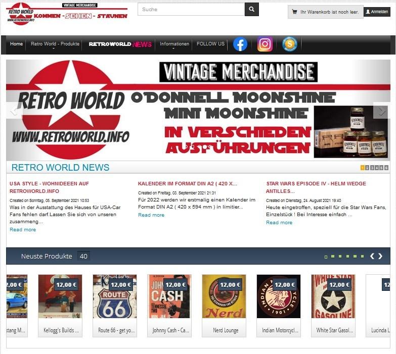 USA Style - Wohnideeen auf RetroWorld.info