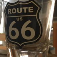 Shot Glass Route 66