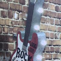 Guitar Leucht Reklame LED